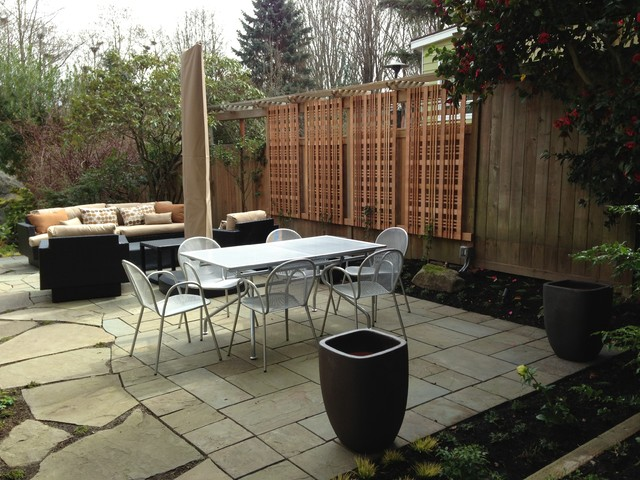 Magnolia Garden 2 contemporary-patio