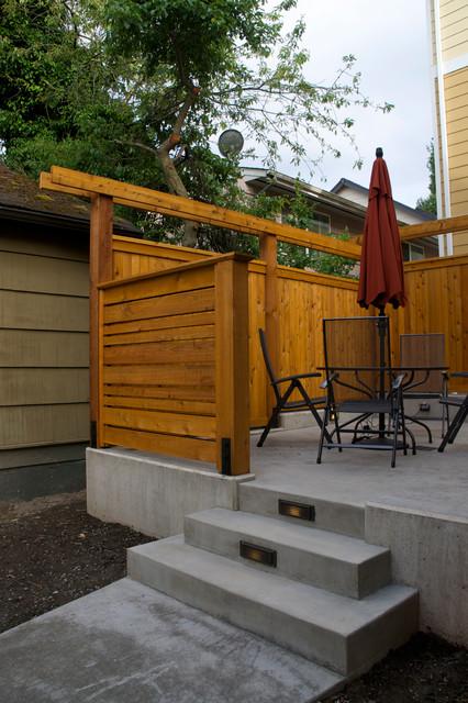 Magnolia Modern Townhome contemporary-patio