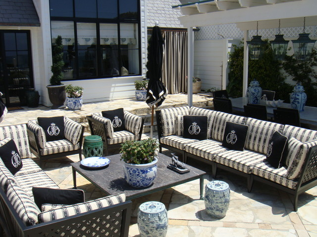 malibu beach eclectic patio