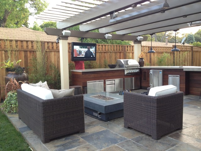 Man Cave Patio Ideas : Man cave craftsman patio san francisco by divine