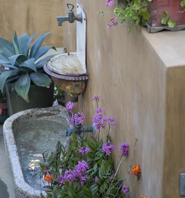 manhattan beach - outdoor patio eclectic-patio
