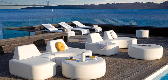 MANUTTI BELGIAN OUTDOOR FURNITURE Modern Patio Miami By Fascinating Modern Patio Furniture Miami