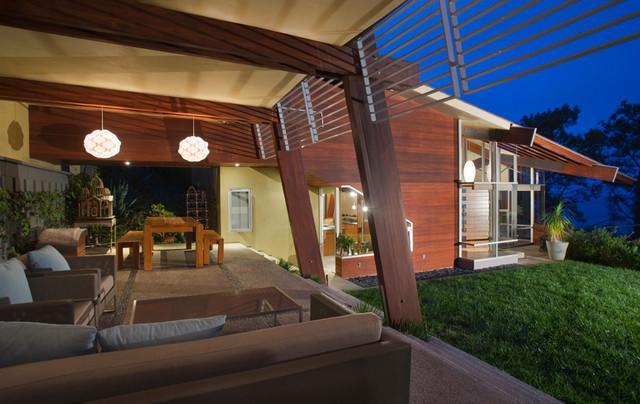 Mar Vista contemporary-patio