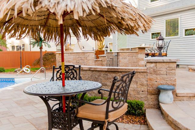 Marlboro NJ Residence Patio traditional-patio