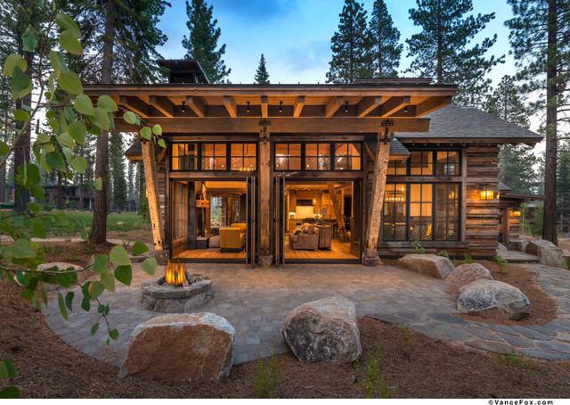 Strange Martis Cabin Modern Patio Sacramento By Nsm Construction Best Image Libraries Barepthycampuscom