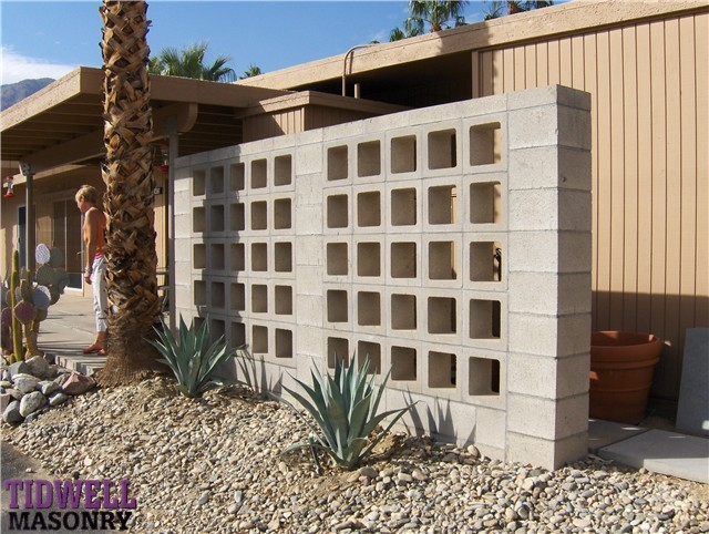 Masonry Patio Screen Wall