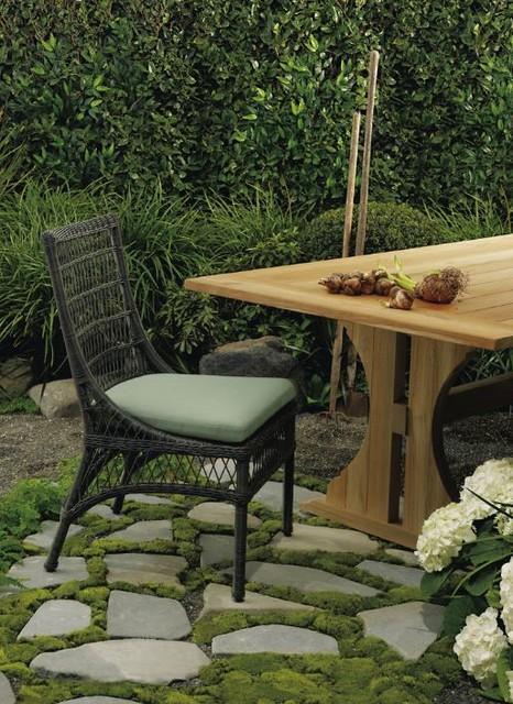 McGuire Water Mill Wicker & Teak Outdoor Furniture beach style patio