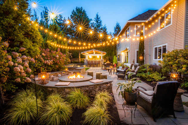 Mckenna patio portland by paradise restored for Paradise restored landscaping exterior design