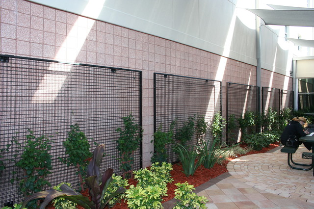 ECO-MESH® Trellis Systems - Contemporary - Outdoor Products - other metro - by McNichols Company