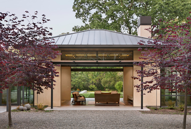Meadow creek residence contemporary patio san for Accents salon bentonville ar