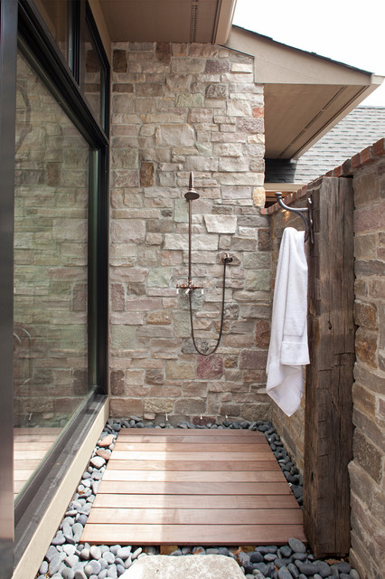 How To Add An Outdoor Shower Best Bathroom Drain Plumbing Exterior