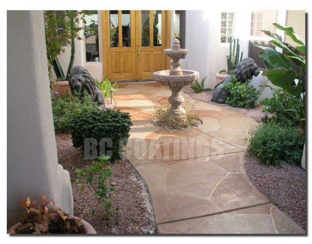 mediterranean patio by BC Coatings