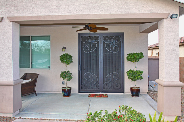decorative security screen doors. Scroll Security Screen Door By First Impression Doors Mediterranean-patio Decorative