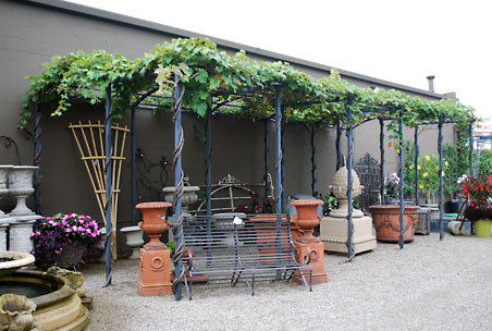 Branch Steel Grape Pergola traditional gazebos