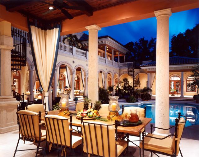 Mediterranean Revival mediterranean-patio