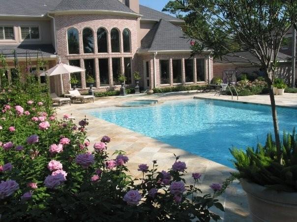 Mediterranean Style Home and Gardens