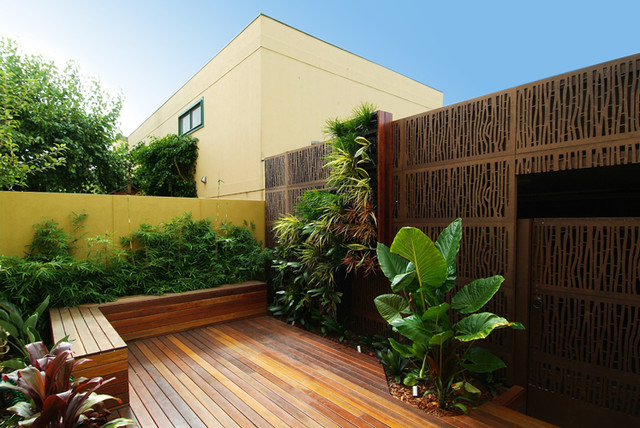 Melbourne modern courtyard modern patio melbourne for Landscape design melbourne