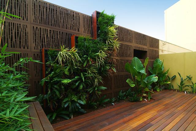 Melbourne Modern Courtyard Modern Patio Melbourne