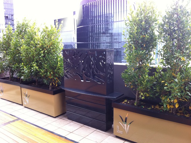 Melbourne penthouse art deco contemporary patio Art deco penthouse
