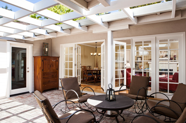Menlo Park addition and remodel traditional-patio