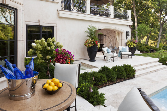 Merilane Avenue Residence 2 Outdoor Space 3 traditional-patio