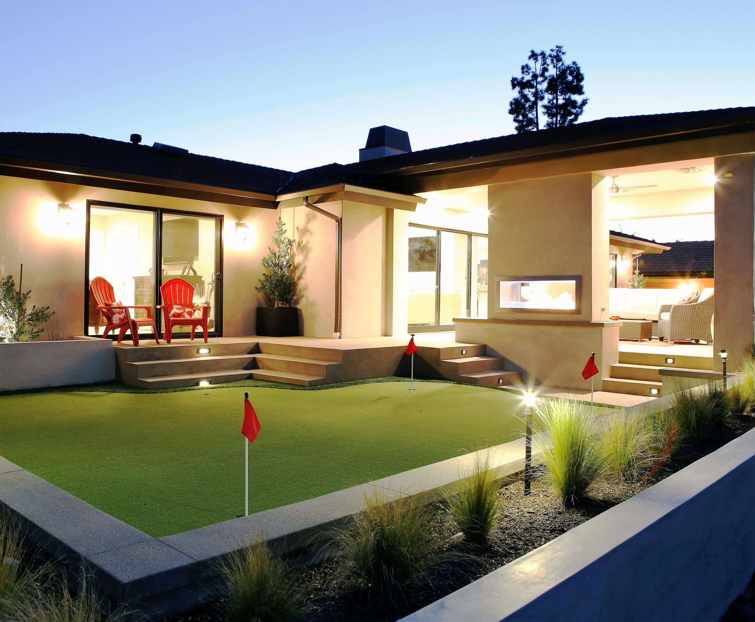 Living on the Golf Course