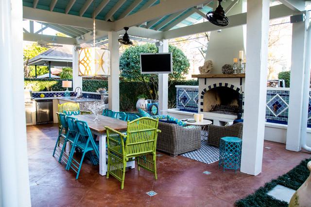 All Rooms / Outdoor Photos / Patio ... - Excellent Mexican Patio Decor Ideas - Patio Design #337