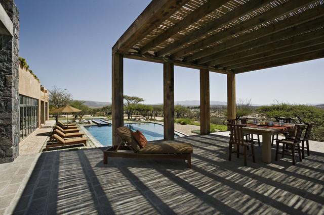 mexico house mediterranean patio new york by david. Black Bedroom Furniture Sets. Home Design Ideas