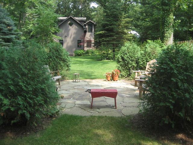 Michiana, Michigan Cottage traditional-patio