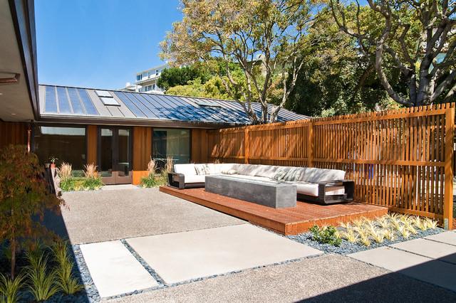 Piedmont LEED Platinum Home Renovation by McCutcheon Construction contemporary-patio
