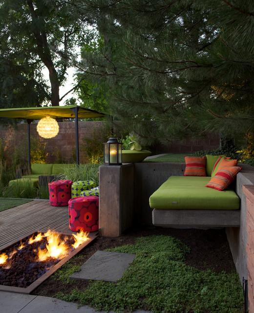 Mid-Century Modern | Arapahoe Acres midcentury-patio