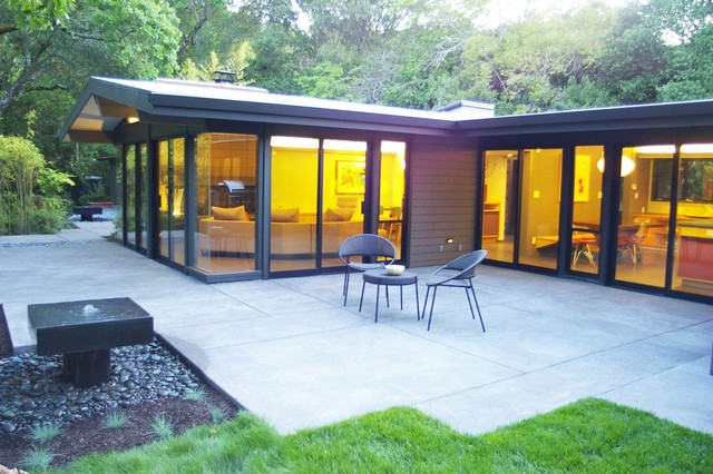 Mid century modern eichler esque remodel windows for Window design cement