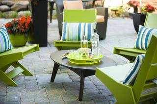 Eco-Friendly ~ Mid-Century Modern Outdoor Room - Midcentury - Patio - minneapolis - by Fusion ...