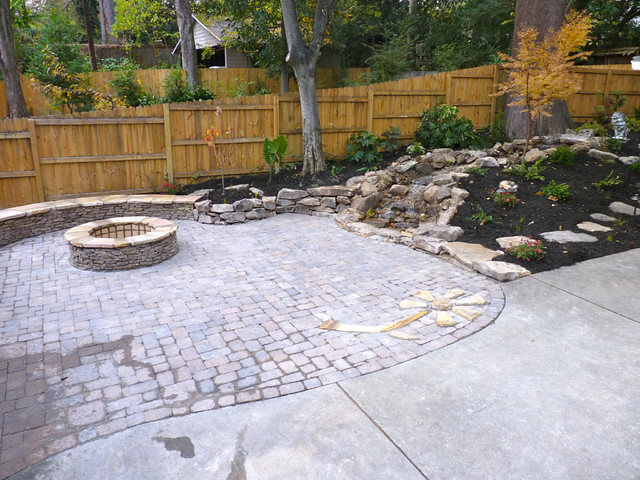 Midtown Makeover traditional-patio
