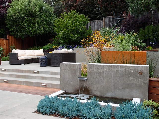 Mill valley gabby 39 s garden contemporary patio san for Garden design mill valley
