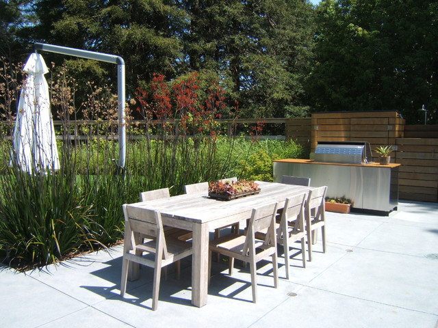 modern patio by Outer space Landscape Architecture