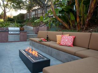 Mill Valley Residence 2 - Contemporary - Patio - San Francisco - by Pedersen Associates