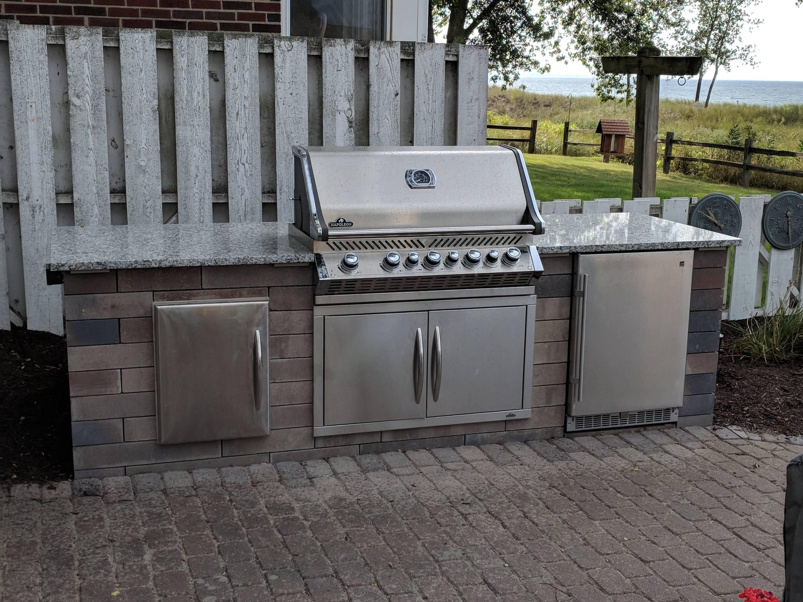 Miller Outdoor Kitchen