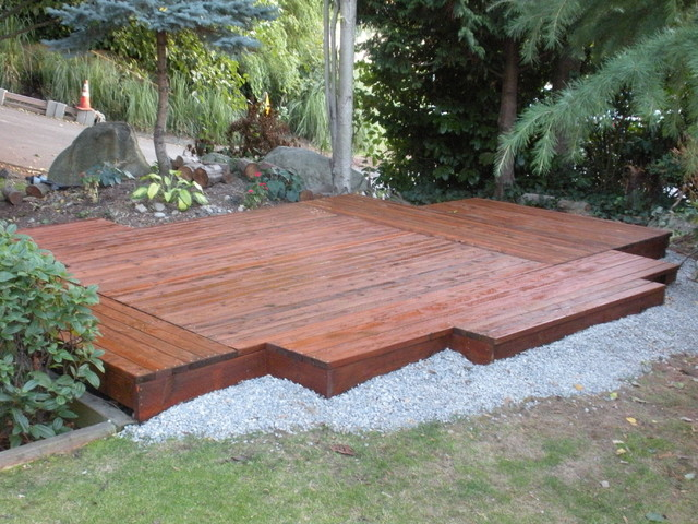 ... Garden Design With Minimal Deck / Patio Modern Patio Seattle With Backyard  Deck Pictures From Houzz