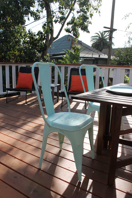 Mint Green Tolix Chairs Contemporary, Tolix Outdoor Chair