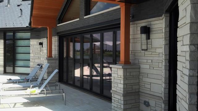 Mirage Retractable Screens-NanaWall System modern-patio