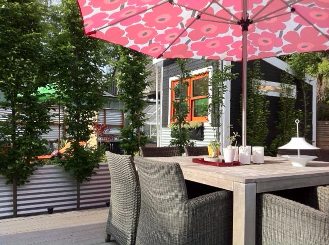 modern back yard design modern-patio