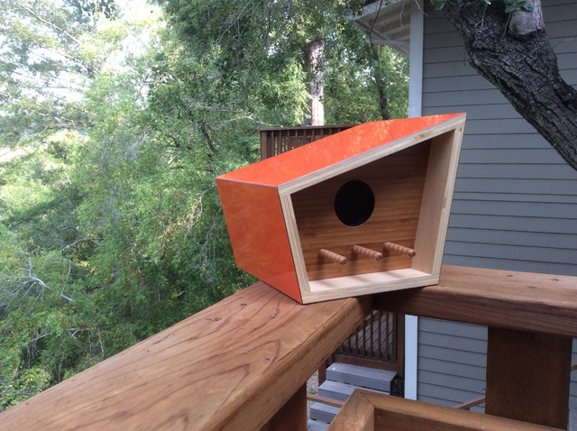 Modern Birdhouses Midcentury Patio San Francisco By Sourgrass