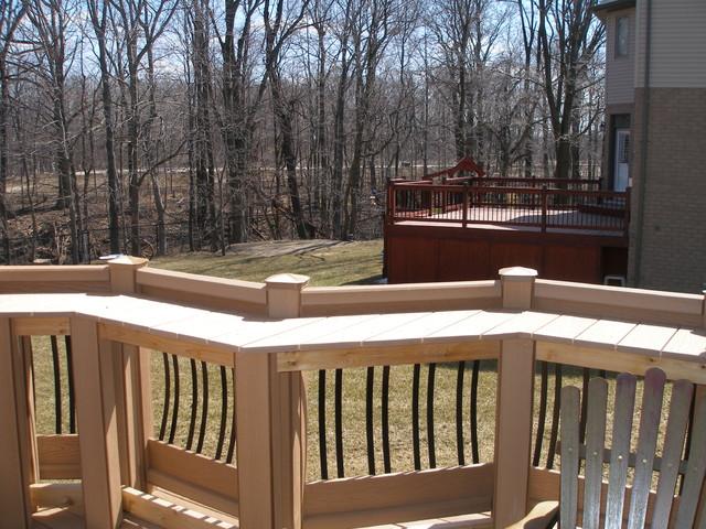Modern Classic Backyard Retreat - Traditional - Deck ...