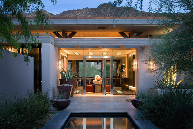 Modern Desert Home Modern Patio Orange County By