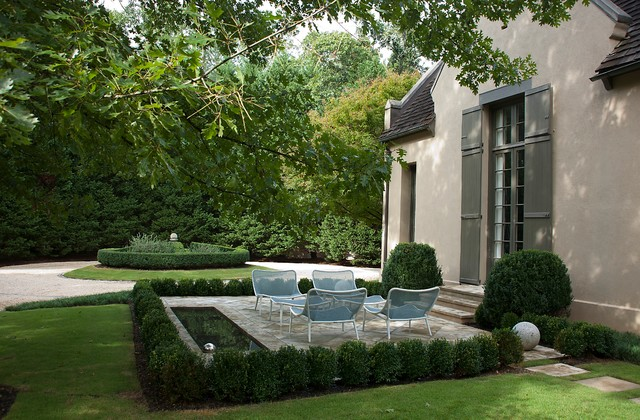 Modern French Country Patio Birmingham By