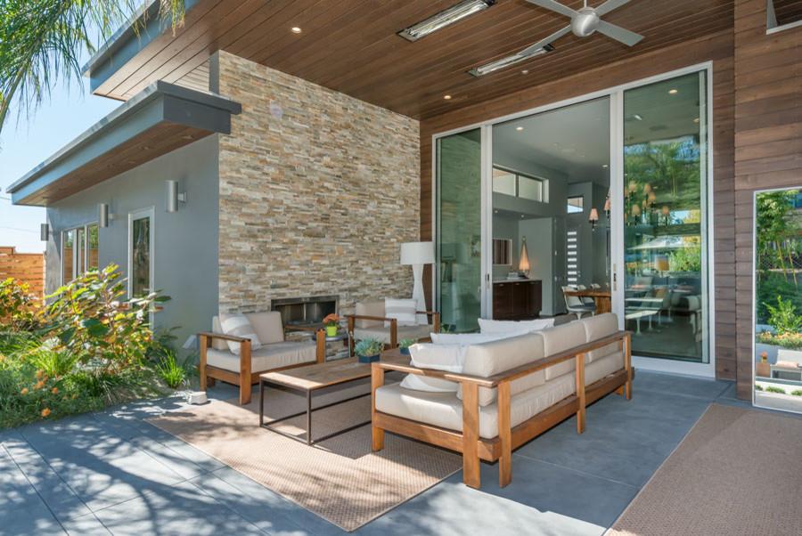Modern Home Healdsburg CA - Midcentury - Patio - San ...