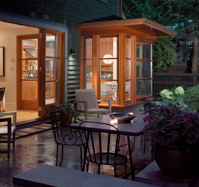 Modern Kitchen Addition Patio Boston By