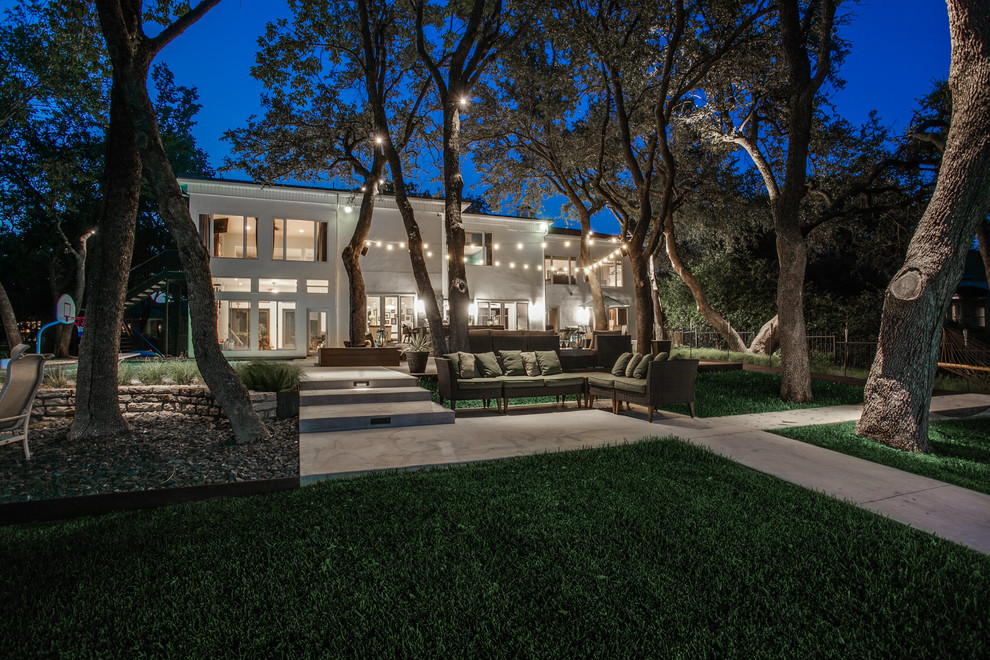 Modern Lake Retreat - Luxury Landscaping and Outdoor ... on Dfw Complete Outdoor Living id=25811