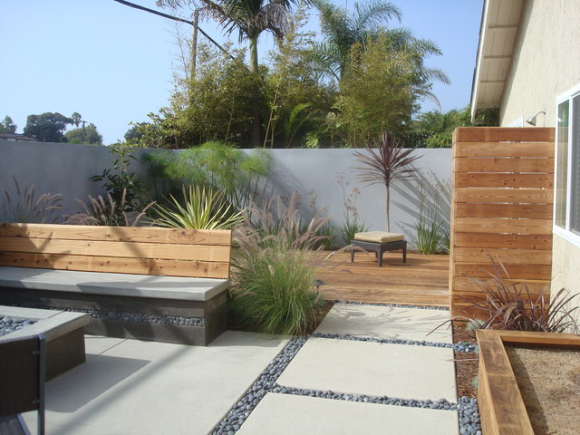 Nathan Smith Landscape Design Modern Patio San Diego By